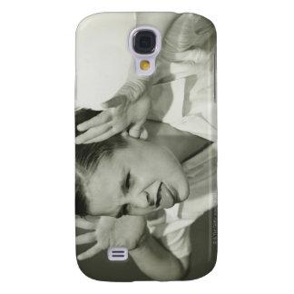 Boy Making Face Galaxy S4 Case