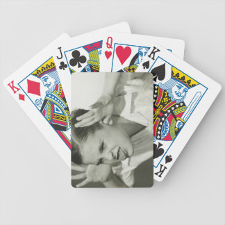 Boy Making Face Bicycle Card Deck