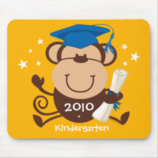 Boy Monkey Graduate Custom Mouse Pad
