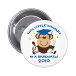 Boy Monkey Graduate Pinback Button