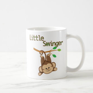 Boy Monkey Little Swinger Coffee Mug
