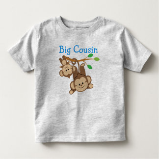 Boy Monkeys Big Cousin T Shirt