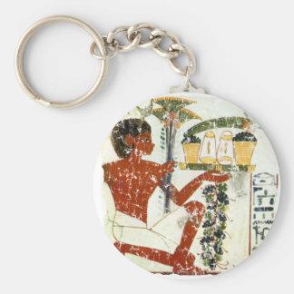 boy offering keychain
