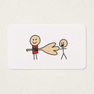 Boy Offering Shake Hand Peace Friend Friendship Business Card