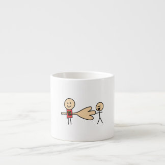 Boy Offering Shake Hand Peace Friend Friendship Espresso Cup