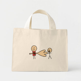 Boy Offering Shake Hand Peace Friend Friendship Mini Tote Bag