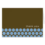 Boy Oh Boy - blue/brown thank you notes Cards