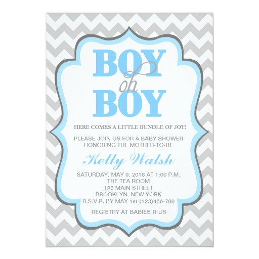 Baby Shower Invitation Paper with nice invitations design