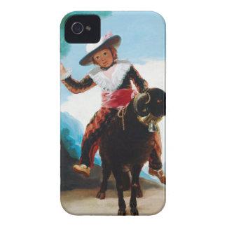 Boy on a Ram Francisco José de Goya Case-Mate iPhone 4 Case