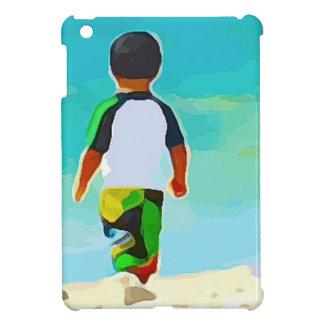 Boy on Beach Cover For The iPad Mini