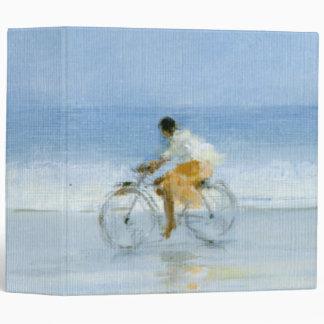 Boy on Bicycle  2 3 Ring Binder