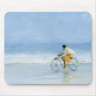 Boy on Bicycle  2 Mouse Pad