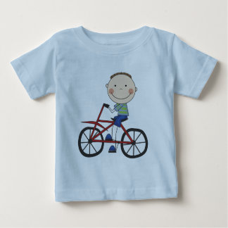 Boy on Bicycle Tshirts and Gifts