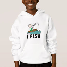 Boy on Boat I Fish Tshirts and Gifts