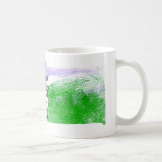 Boy on Hillside Coffee Mug