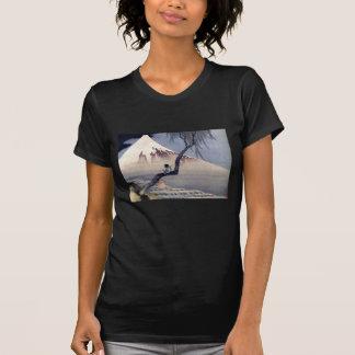 Boy on Mount Fuji, Hokusai Tshirt