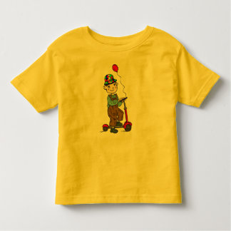 Boy on Scooter with Balloon 2 Toddler T-shirt