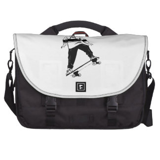 Boy on Skateboard Commuter Bags