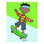 Boy On Skateboard Personalized Flyer