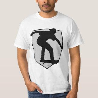 Boy On Skateboard Silhouette T-Shirt