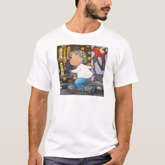 Boy on the bicycle T-Shirt