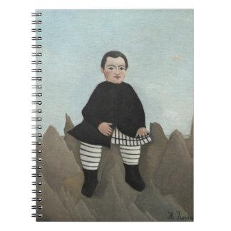 Boy on the Rocks Notebook
