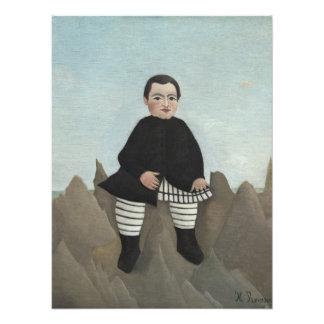 Boy on the Rocks Photo Print