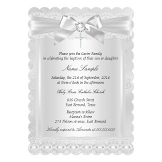 Boy Baptism Invitations & Announcements | Zazzle