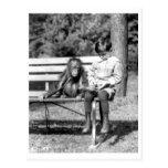 Boy & Orangutan Vintage National Zoo Washington Postcards