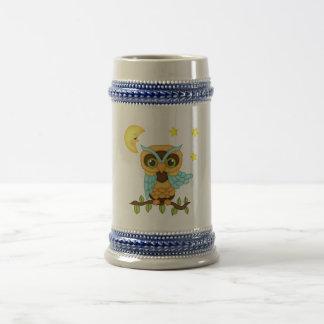 Boy Owl Beer Stein