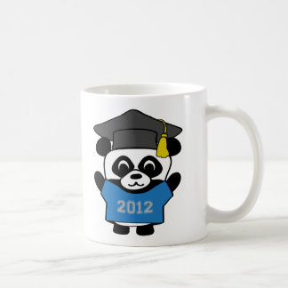 Boy Panda Blue & Gray 2012 Grad Coffee Mug