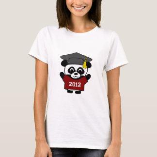 Boy Panda Maroon & White 2012 Grad T-Shirt
