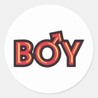 Boy Pegatina