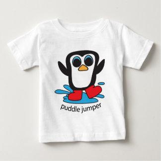 Boy Penguin Puddle Jumper Baby T-Shirt