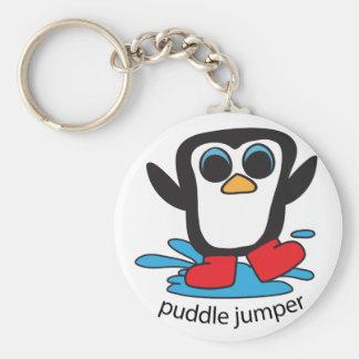 Boy Penguin Puddle Jumper Keychain