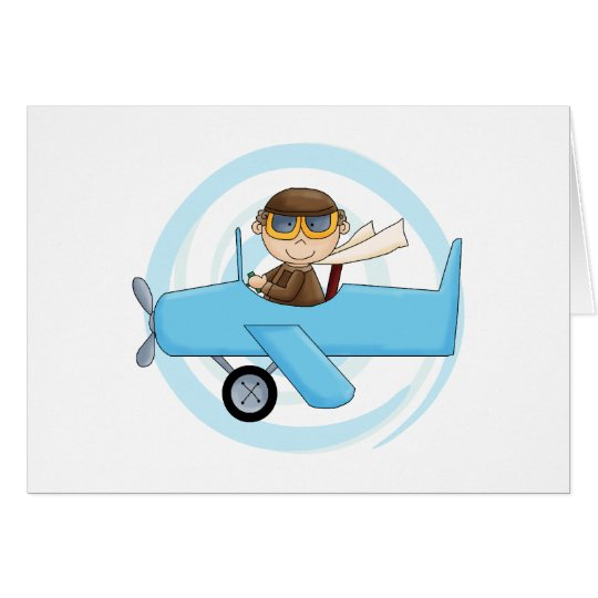 Boy Pilot Tshirts and Gifts Card