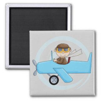 Boy Pilot Tshirts and Gifts Fridge Magnets