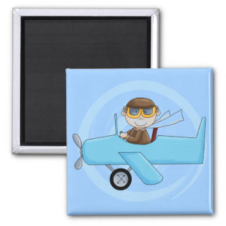 Boy Pilot Tshirts and Gifts Refrigerator Magnets
