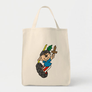 Boy Pirate Ahoy Matey Tshirts and Gifts Tote Bag