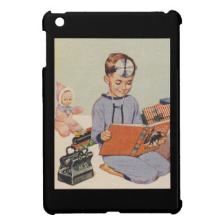 Boy playing Doctor  - Retro Cover For The iPad Mini
