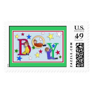 Boy Postage Stamp