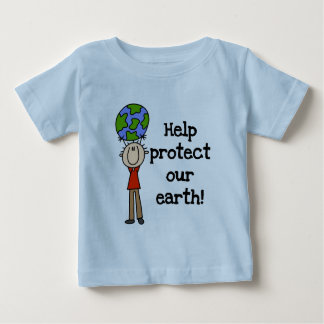 Boy Protect Our Earth T-shirts and Gifts