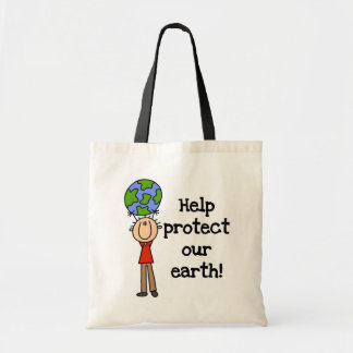 Boy Protect Our Earth T-shirts and Gifts Tote Bag