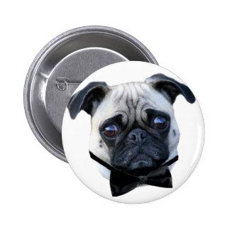 Boy Pug button