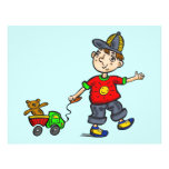 Boy Pulling Toy 2 Flyer