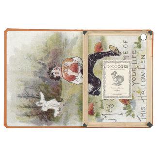 Boy Pumpkin Patch Ghost Costume iPad Air Cases