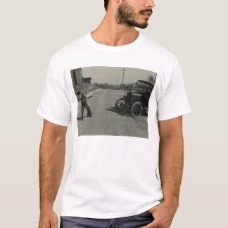 boy roped car shirt