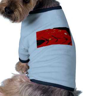 Boy s Chinese Costume abstract 2 Doggie T Shirt