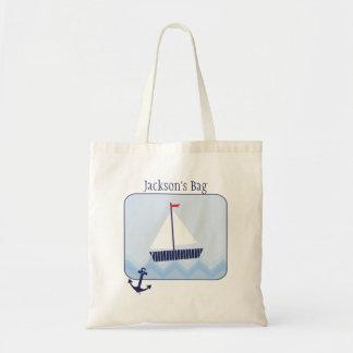Boy s Nautical Budget Tote Bag