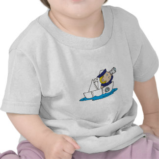 Boy Sailor in Boat Tshirts and Gifts